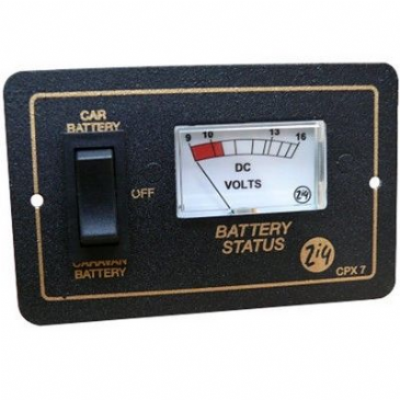 Zig CPX-7 Battery Condition Control Panel